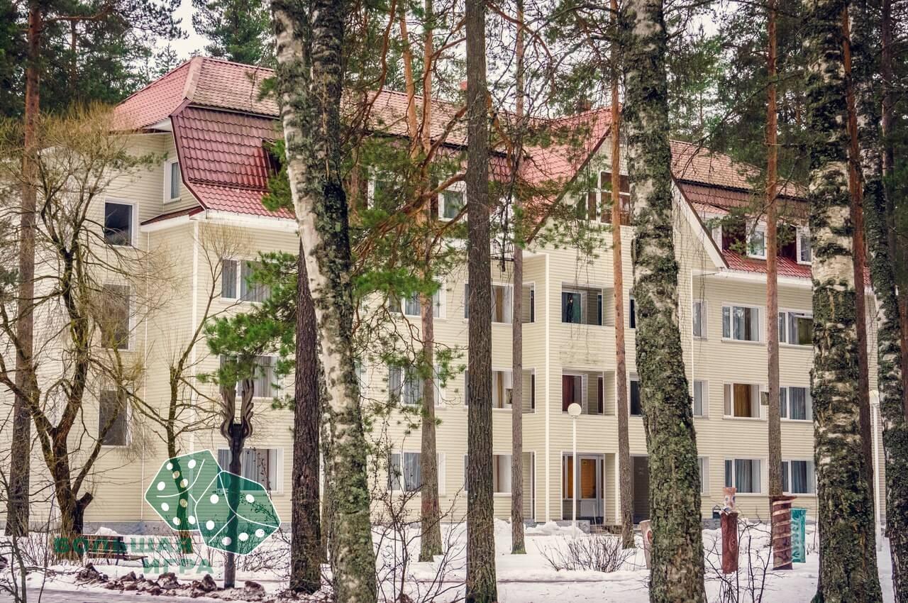 Корпоратив на природе в отеле Райвола