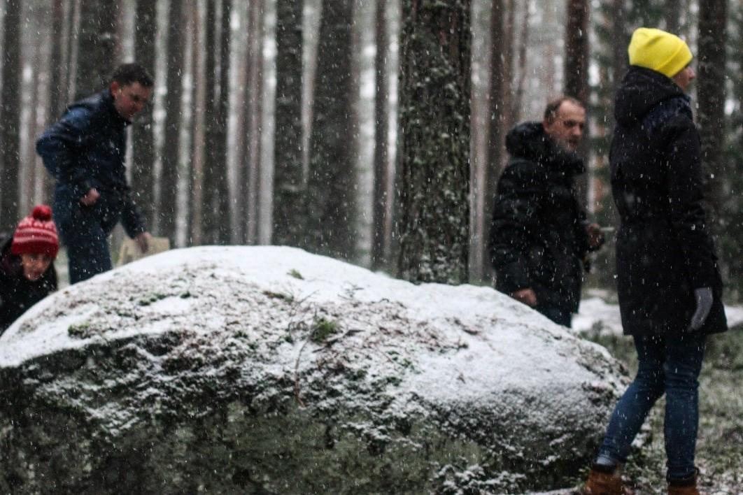 Тимбилдинг на площадке Каменная гора