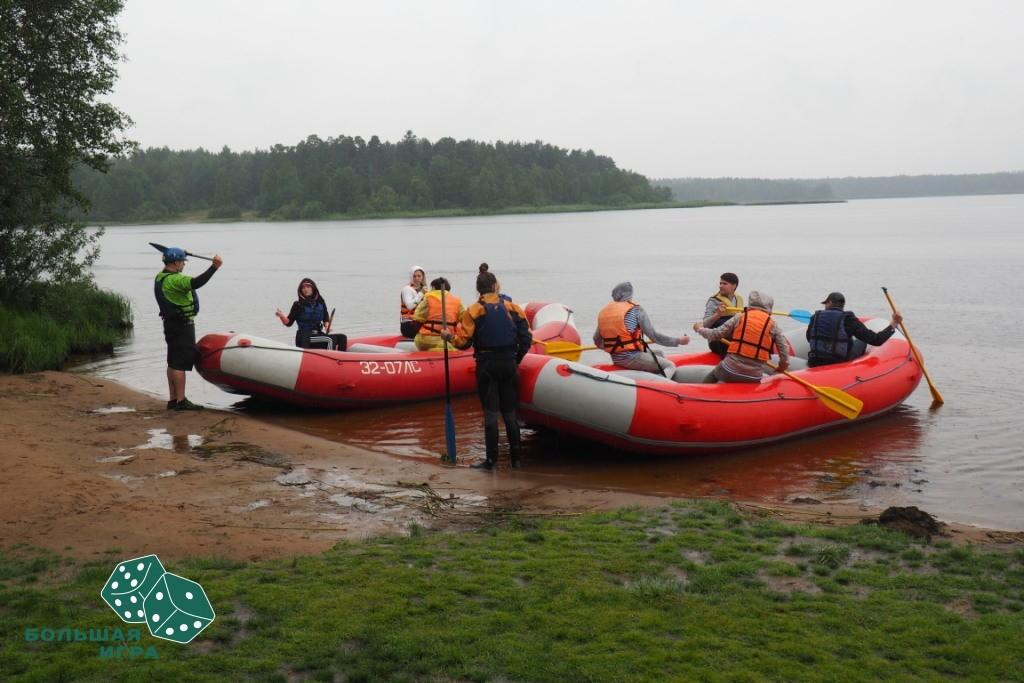 тимбилдинг пираты финского залива