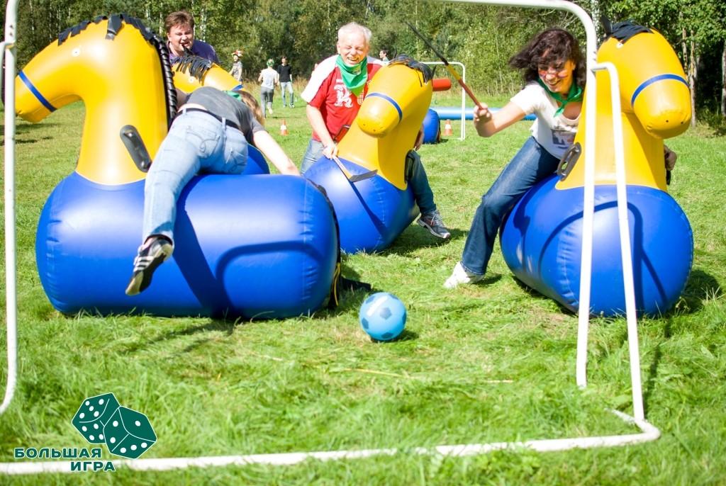 Спортивный корпоратив. Лучшие идеи для различного числа участников.
