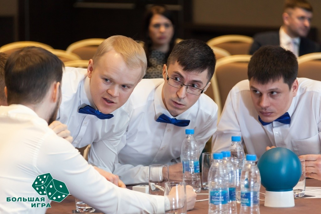 Корпоративный турнир Газпрома по Брейн-рингу